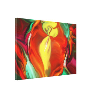 Seasons - Abstract Gallery Wrap Canvas