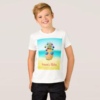 Season's Aloha Christmas Pineapple  | T-shirt