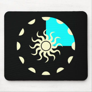 Seasons and the Sun Winter Mouse Pad
