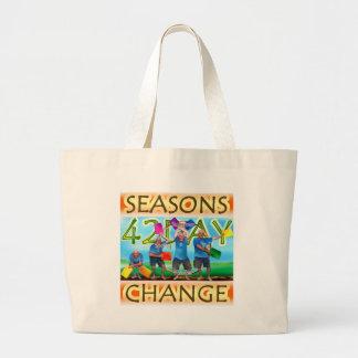 Seasons Change Canvas Bags