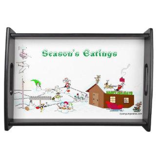Season's Eatings Serving Tray