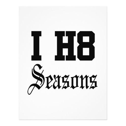 seasons flyer design