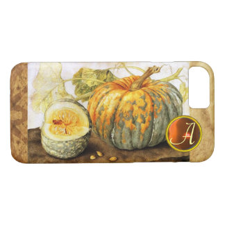 SEASON'S FRUITS  / PUMPKINS MONOGRAM iPhone 8/7 CASE