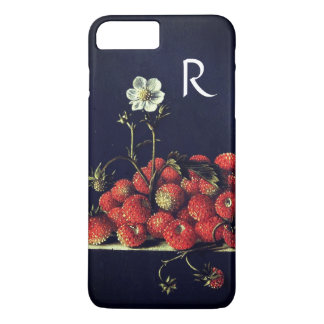 SEASON'S FRUITS,STRAWBERRIES AND STRAWBERRY FLOWER iPhone 8 PLUS/7 PLUS CASE