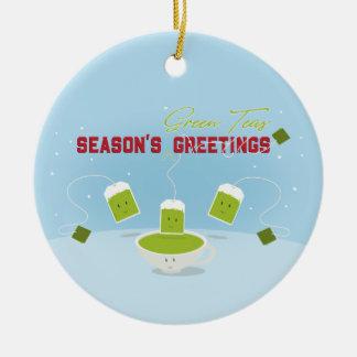 Season's Green Teas | Ornament