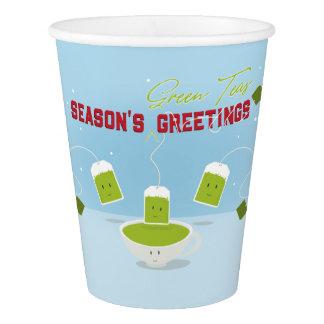 Season's Green Teas | Paper Cup