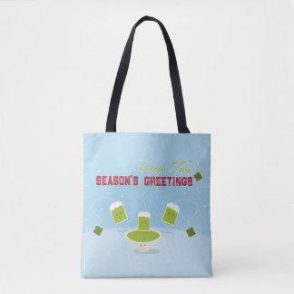 Season's Green Teas   Tote Bag