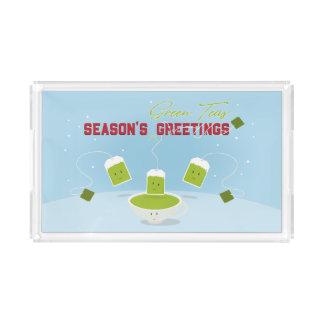 Season's Green Teas | Tray