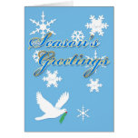 Season's Greeting Dove Card