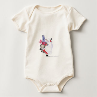 Seasons Greetings 1 by Tony Fernandes Baby Bodysuit
