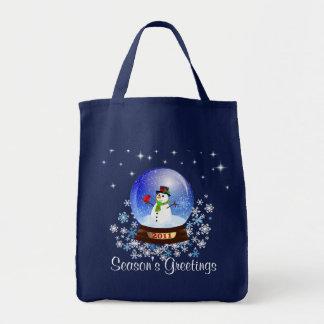 Season's Greetings - 2011 Snowglobe Gift Bag