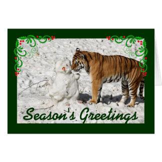 Season's Greetings Card Lanscape