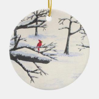 Season's Greetings Christmas Ornament