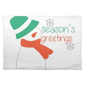 Season's Greetings Placemat