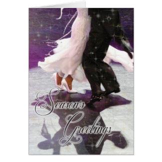 Season's Greetings Dancers PERSONALIZED Card