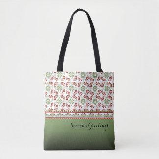 Season's Greetings Festive Tote Bag