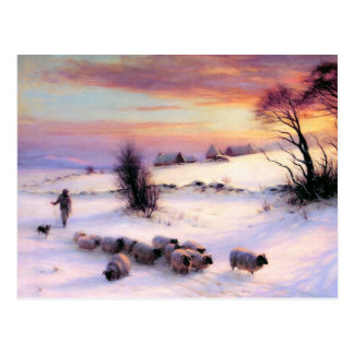 Season's Greetings. Fine Art Christmas Postcards