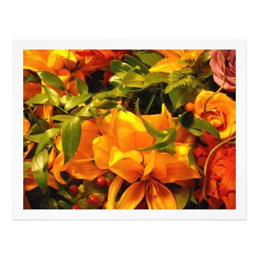 Season's Greetings Flowers Flyers