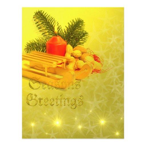 seasons greetings full color flyer