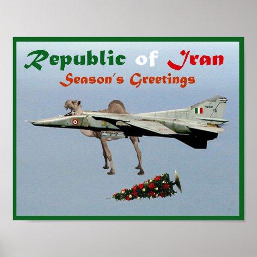 Seasons Greetings from Iran Print