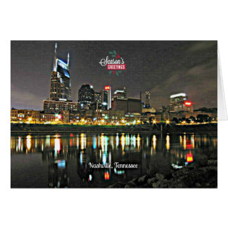 Season's Greetings from Nashville, Tennessee Greeting Card