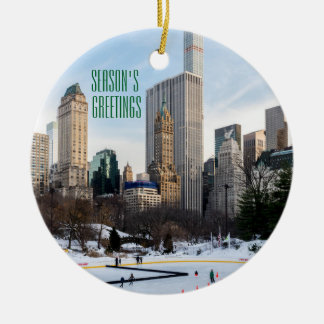 Season's Greetings From NYC Ornament
