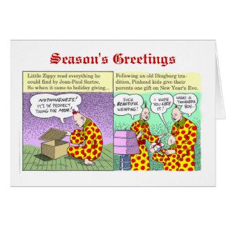 Season's Greetings from Zippy Greeting Cards