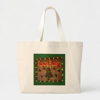 Seasons Greetings Gingerbread II Bags