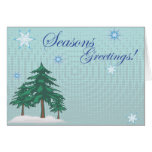 Seasons Greetings! Greeting Card