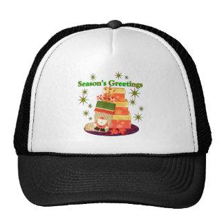 Season's Greetings Mesh Hat