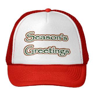 Season's Greetings Hat