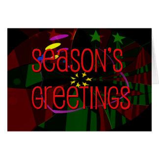 seasons greetings II Greeting Card
