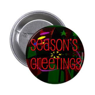 seasons greetings II Pinback Button