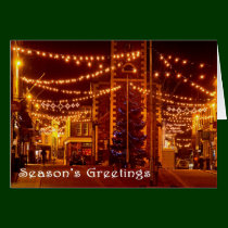 Season's Greetings Keswick Christmas Card