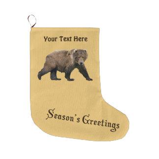 Season's Greetings - Kodiak Bear
