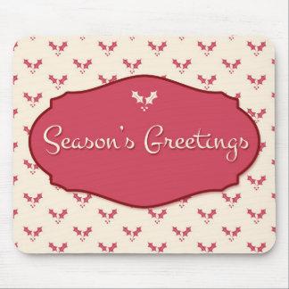 Season's Greetings Mouse Pad