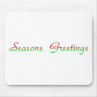 Seasons Greetings Mouse Pad