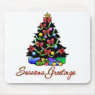 Seasons Greetings Mousepad