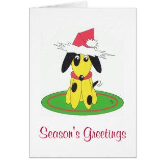 season's greetings note card