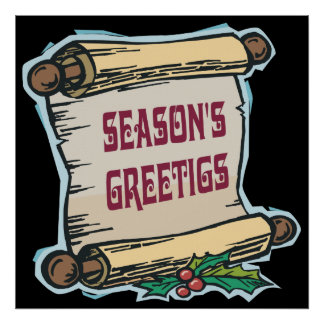 Seasons Greetings Print