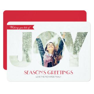 Seasons Greetings (RED) Card
