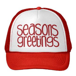 Seasons Greetings Red Hat