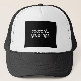 Season's Greetings Trucker Hat
