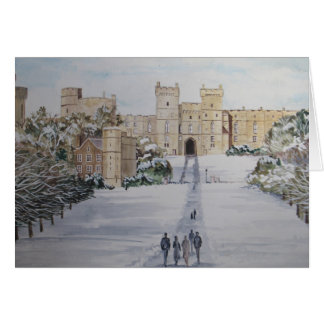 Season's Greetings Windsor Castle Card