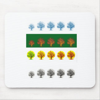 seasons mouse pad