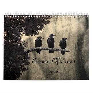 Seasons Of Crows 2016 Calendar