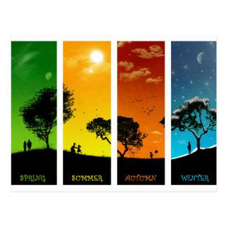 Seasons of Life Postcard