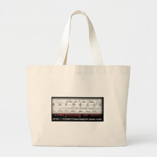 Seasons of Love Sketch Tote Jumbo Tote Bag