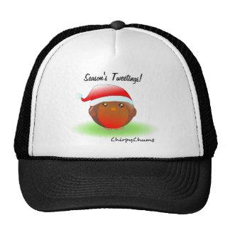 Season's tweetings Christmas Robin Hats