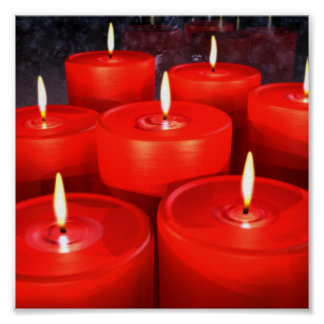 SeasonSpirit  Candles Poster